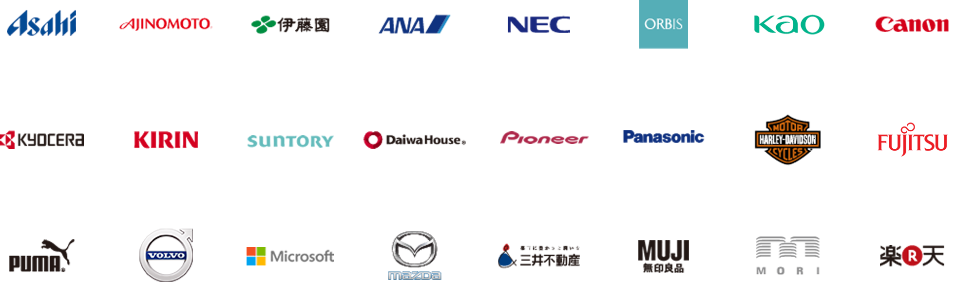 Our Clients' Logos