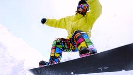 ハイスピードカメラGoProで撮影したスキー動画がかっこいい !