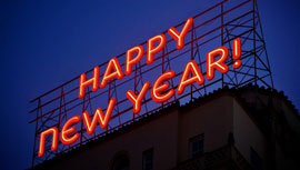 企業が公開している、新年のあいさつ動画